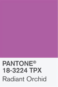 Pantone Radiant Orchid 18-3224