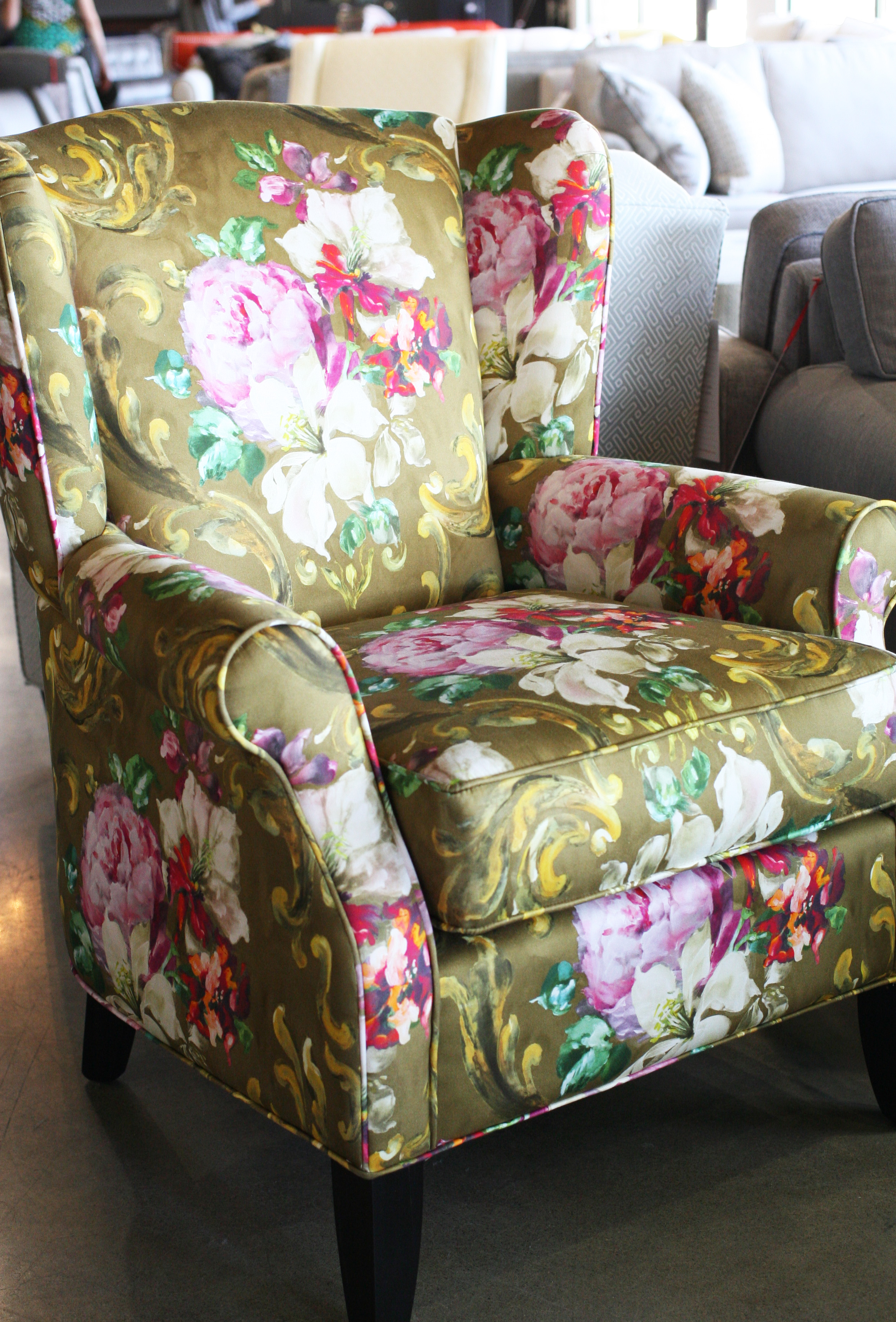 Rupert wing chair